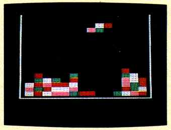 Red Squares screen
