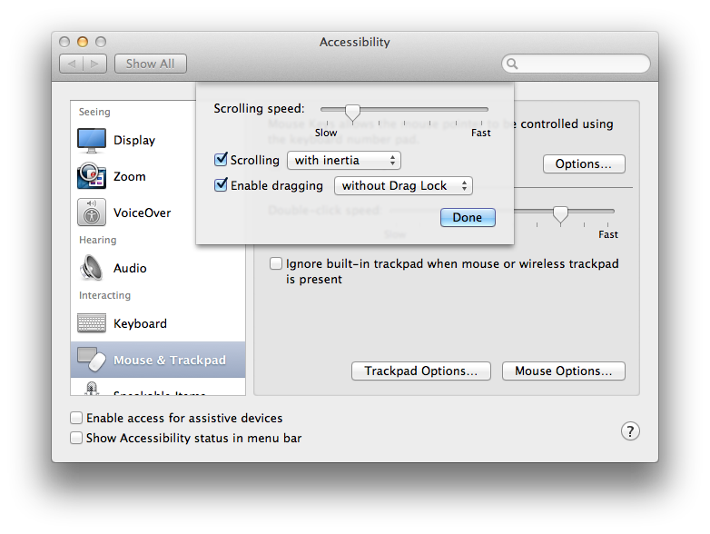 "How to bring back ""double tap to drag"" in newer versions of OS X"